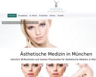 Bild Webseite Privatpraxis für Chirurgie Dr. med. Sandra Moritz München