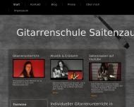 Bild Gitarrenschule Saitenzauber