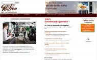 Bild Webseite Gusto Kaffeeautomaten Service München