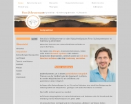 Bild Webseite HNaturheilpraxis Finn Scheunemann Hamburg