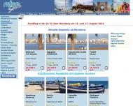 Bild Webseite RN - Reisestudio Nürnberg Nürnberg