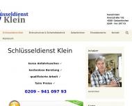 Bild Schlüsseldienst Gelsenkirchen Klein