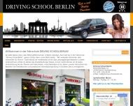 Bild Webseite Driving School Berlin Berlin
