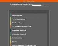 Bild Altenpension u. Pflegeheim Hannich GmbH
