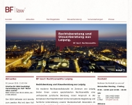 Bild Webseite BF law Rechtsanwälte Leipzig Leipzig