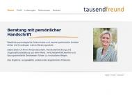 Bild Webseite Tausendfreund Psychologische Personal- & Organisationsberatung Meckenheim