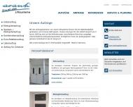 Website avanti Liftsysteme