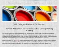 Website Ausbau & Innengestaltung R. Emmig