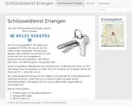 Website Schlüsseldienst Erlangen Scholz