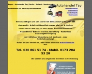 Website Autohandel Tay Export