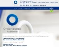 Bild Webseite Oralchirurgie Haidhausen München