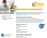 Website A B M Hahl Personal-Service