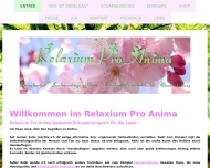 Website Relaxium Pro Anima