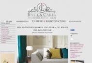 Website Jessica Cakir Polsterei & Raumausstattung