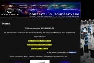 Website PULSOUND.DE