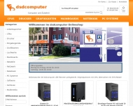 Bild Webseite dsdcomputer Magdeburg