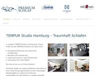 Bild Premium Schlaf GmbH – TEMPUR Studio Hamburg St. Georg