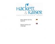 Bild Hacket & Kaiser Sanitärtechnik GmbH