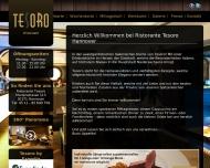 Website Tesoro