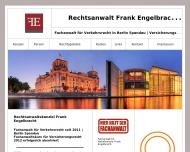 Bild Webseite Rechtsanwalt Frank Engelbracht Berlin