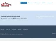 Website Dachdeckerei Bünning