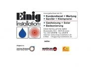 Bild Einig Installation GmbH