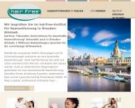 Website hairfree Institut Dresden-Altstadt