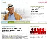 Bild Webseite Augustinum Seniorenresidenzen München