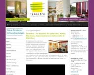Bild Webseite fenestra Jalousie & Deco München