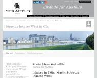 Website Straetus Inkasso West