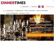 Bild DINNERTIMES - Krimidinner & Dinner in the Dark
