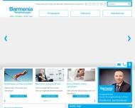 Website Barmenia Versicherungen - Waldemar Gerstenlauer