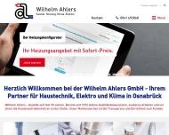 Bild Ahlers Wilhelm GmbH & Co. KG Heizung Sanitär Solar Klimatechnik