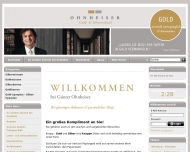 Website SGV Ohnheiser Gold Silber Edelmetalle Konstanz Luxembourg