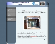 Bild Webseite GERHARD GESSENICH Aachen
