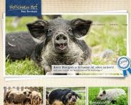Website Wollschweinhof Bad Birnbach