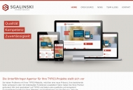 Website sgalinski Internet Services