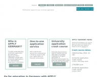 Bild Webseite APPLY GERMANY Berlin