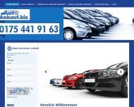 Website Autoankauf - Autohof Bochum