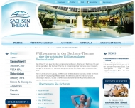 Website Sachsen-Therme