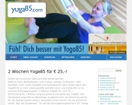 Bild Webseite Yoga85 UG Nürnberg