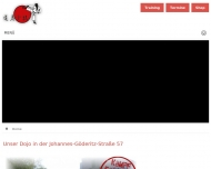 Website Hatsuun Jindo Karate Club Magdeburg-Barleben