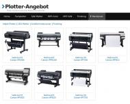 Website plotter-angebot
