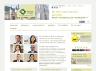 Website Krebs Immobilien