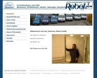 Bild Webseite Johannes Rebel Durmersheim
