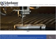 Bild Webseite Hugo Scherbauer München