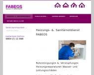 Bild Webseite Sanitär Notdienst München - FABEOS München