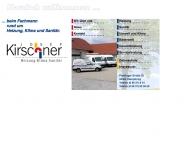 Bild Webseite Kirschner Josef Heizung Lüftung und Sanitär Oberpöring