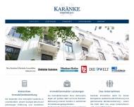 Website Karänke Immobilien Düsseldorf