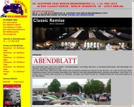 Bild Webseite Oldie Oldtimer-Werkstatt Potsdam